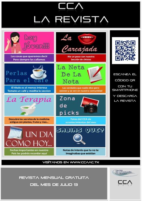Revista CCA Edicion Julio 13