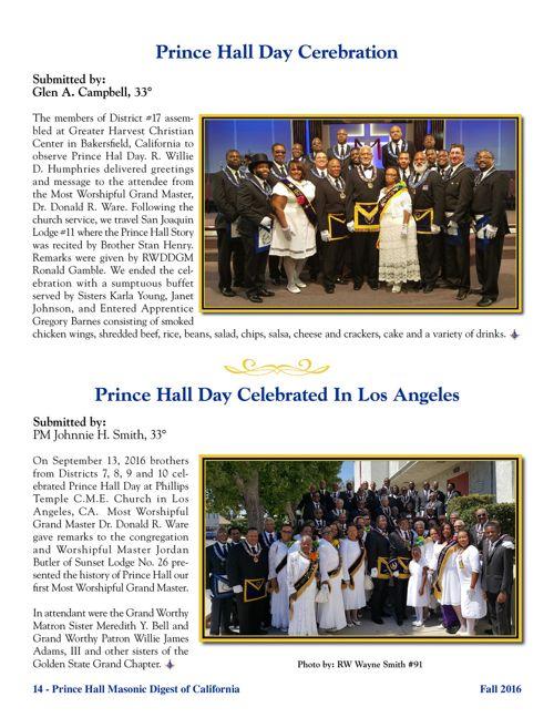 Masonic Digest Fall 2016 (part 2/2)