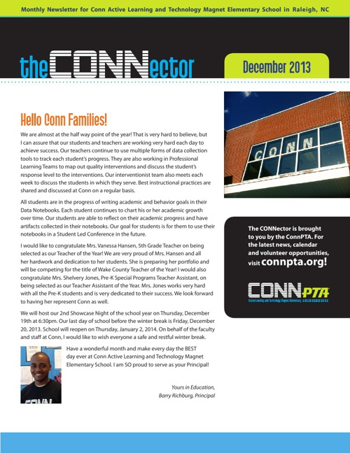 Read the December CONNector