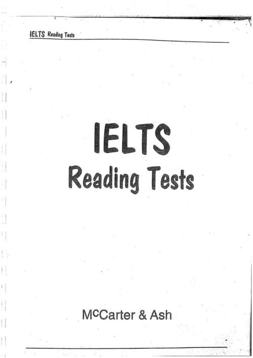 IELTS Reading Tests