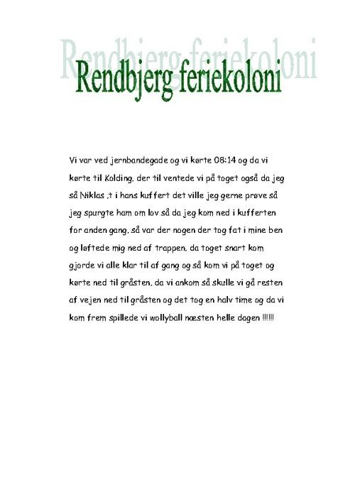 rendbjerg