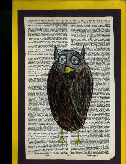 Great Grey Owl by Liam