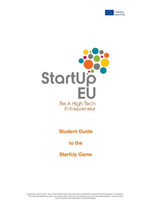 StartUp Student Step by Step Guide