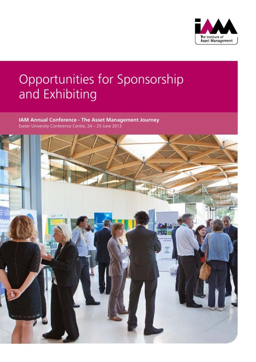 Annual Conference - Sponsorship and Exhibition Opportunities