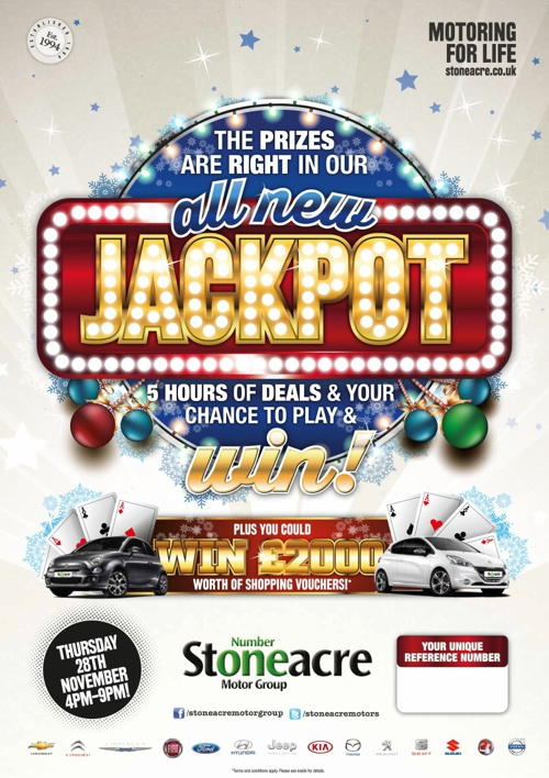 Copy of Copy of Stoneacre Jackpot 28102013