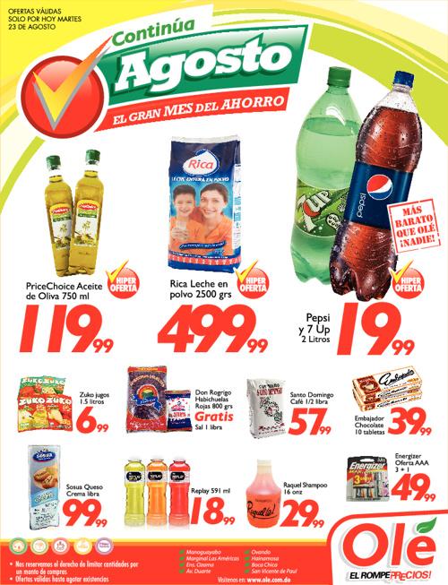 Ole El Rompe Precios Ofertas Martes 23 Agosto 2011