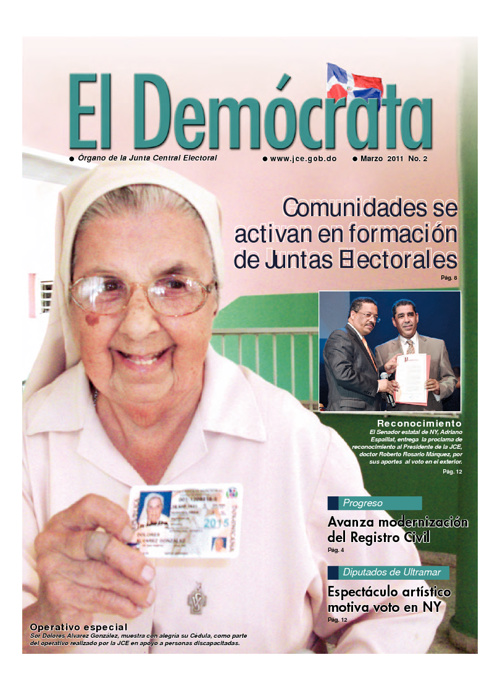 El Demócrata - Edición 2