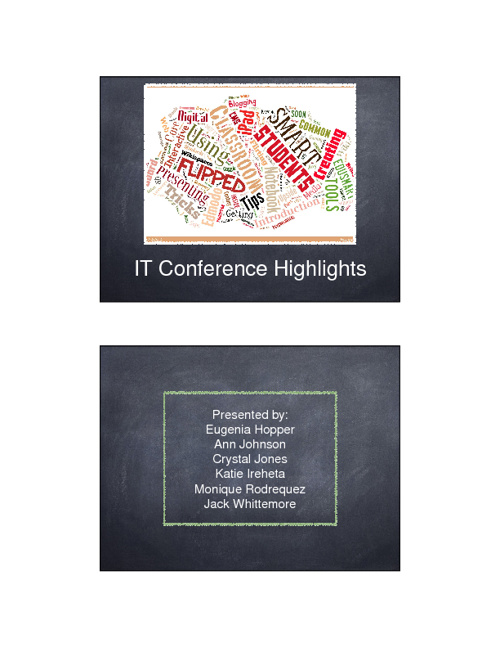 IT Conference Highlight