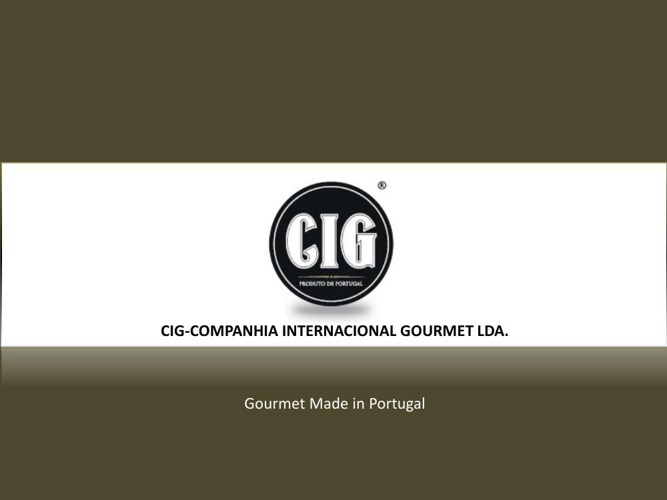 Catalogo CIG