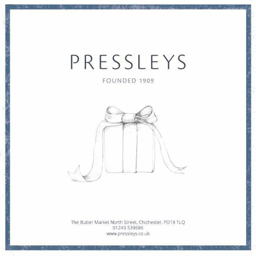 Pressleys Christmas Brochure