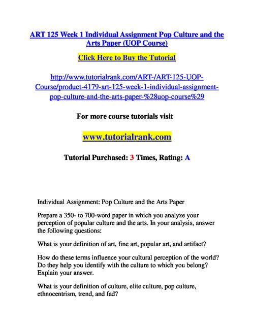 ART 125 Slingshot Academy / Tutorialrank.Com