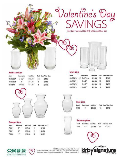 Valentine's Day Savings 2016