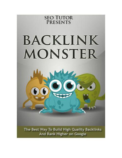 Backlink Monster Preview