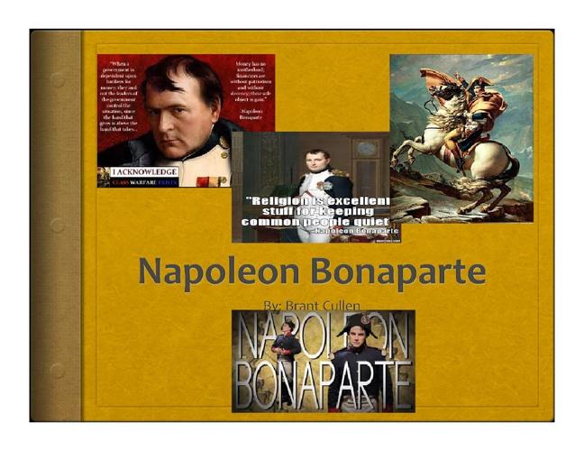 napoleon powerpoint