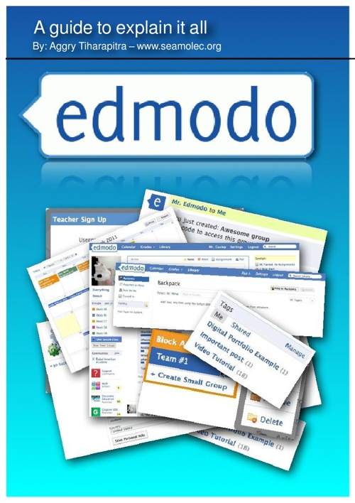 A guide to explain 'Edmodo' all
