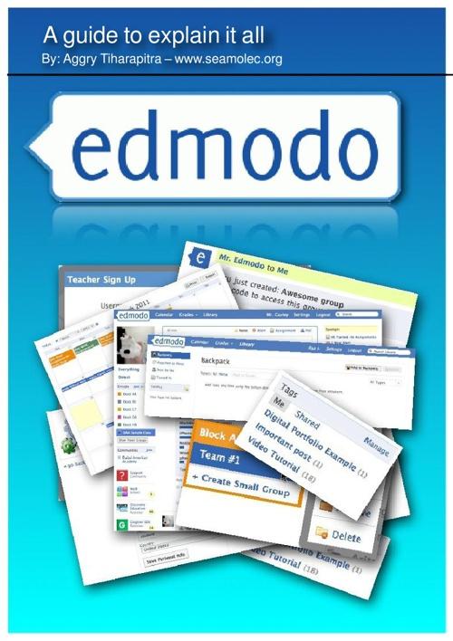 A guide to explain 'Edmodo' all