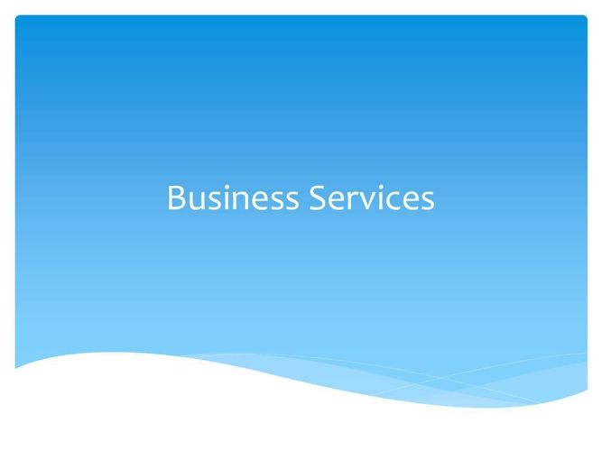 Business Services information