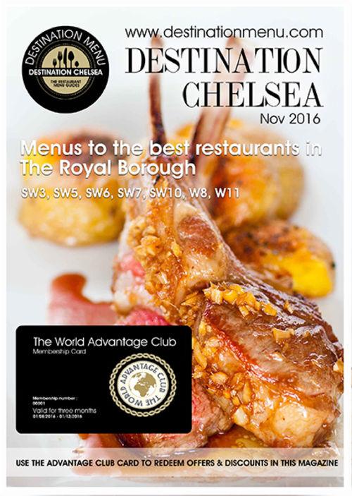 Destination Chelsea Magazine November 2016 edition