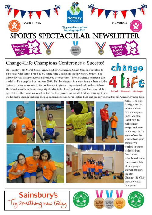 Sports Newsletter Number 11