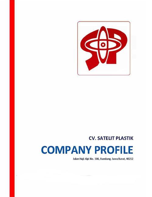 COMPANY PROFILE CV.SATELIT PLASTIK