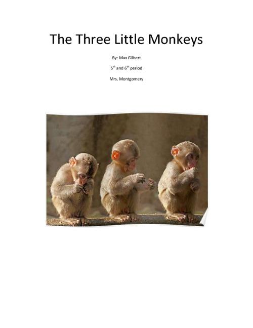 The Three Little Monkey