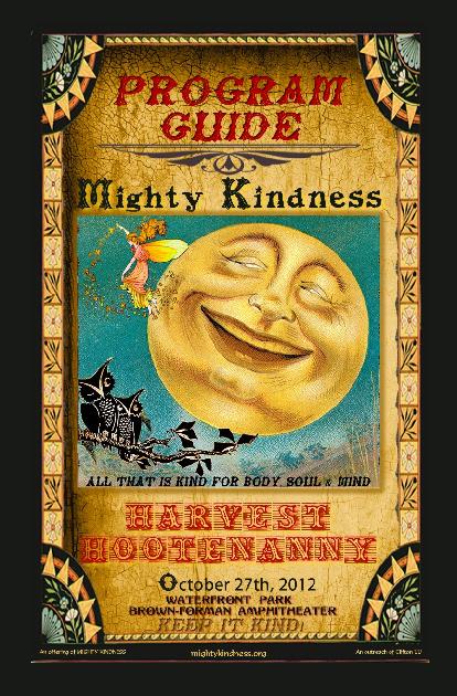 2012 Mighty Kindness Harvest Hootenanny Program Guide