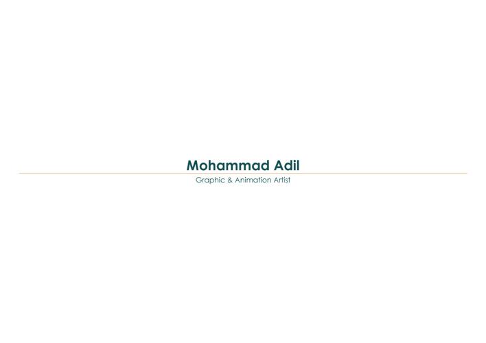 Portfolio Adil