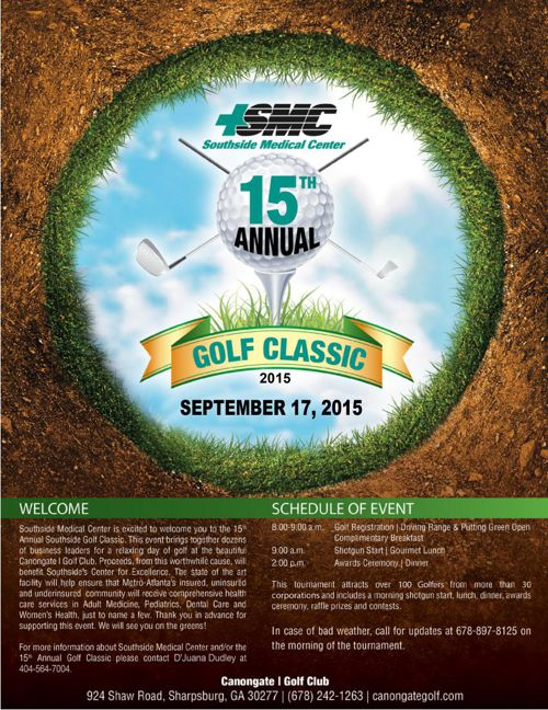 2015 SMC Golf Brochure