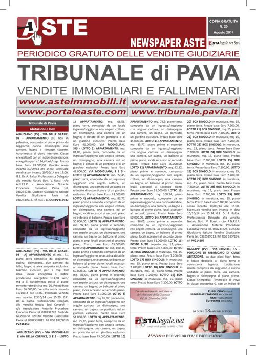 Pavia agosto 2014