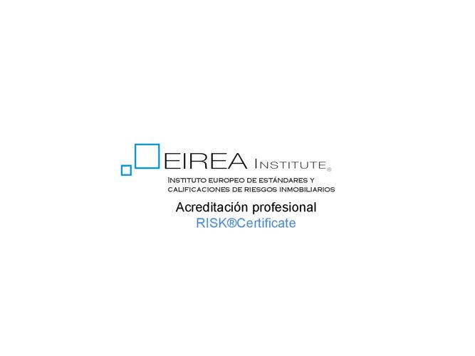 Acreditacion RISK@Certificate