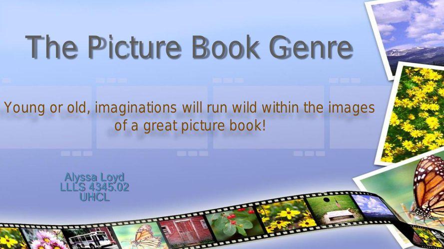 The Picture Book Genre
