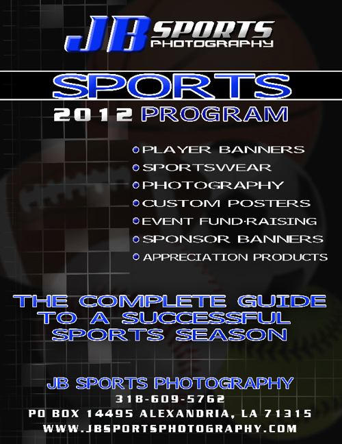 JB Sports Photography Catalog