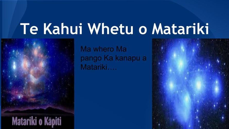 Te Kahui Whetu o Matariki (1)