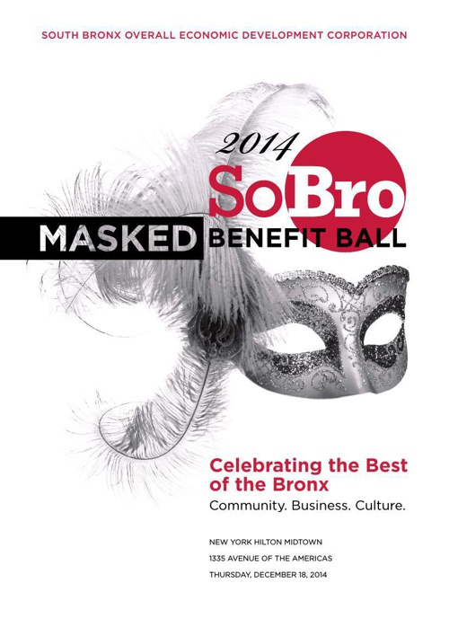 The 2014 SoBRO MASKED BENEFIT BALL: Journal