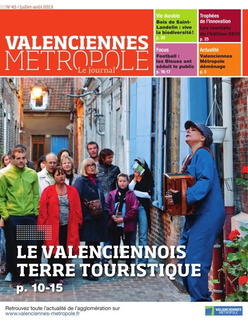 Valenciennes Métropole le journal n°45 (juillet-août)