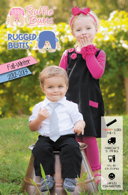 RuffleButts and RuggedButts Fall 2012 Catalog