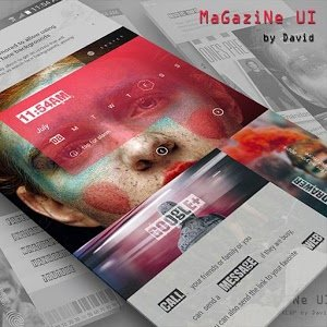 MaGaziNe UI for KLWP Android Free