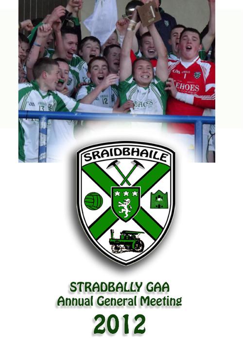 Stradbally AGM 2012 booklet