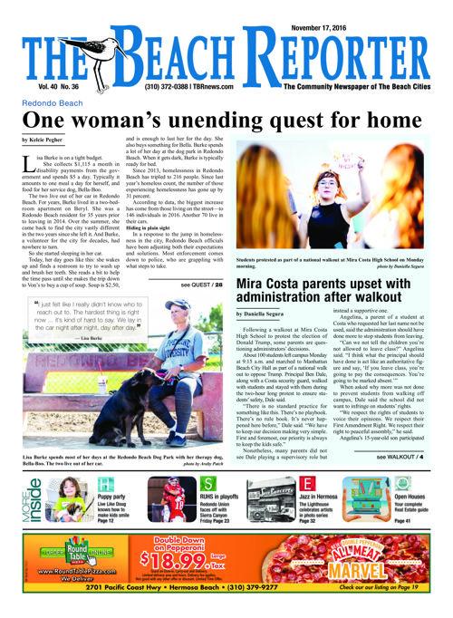 The Beach Reporter | November 17, 2016