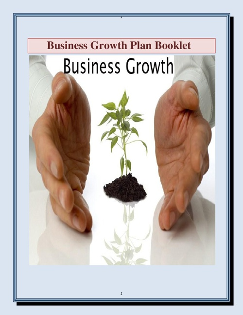 Business Growth Cycle Booklet