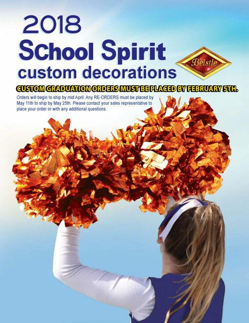Beistle 2018 School Spirit Catalog