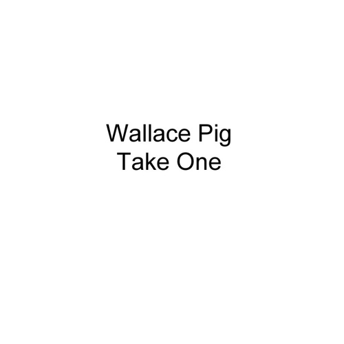 Wallace Pig-Take One