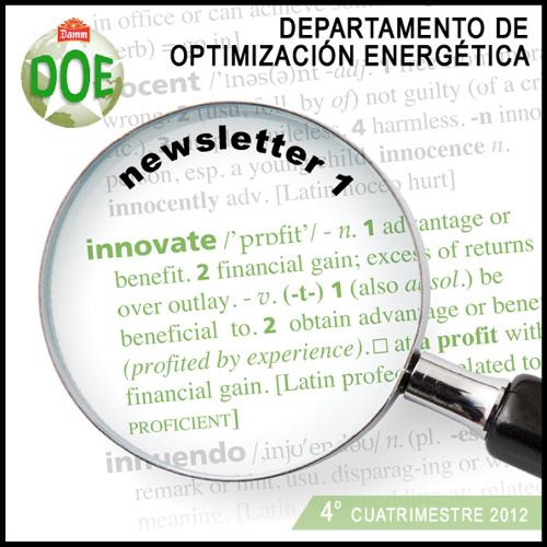 Newsletter Departamento Optimización Energética Grupo Damm
