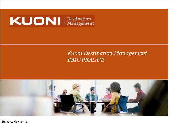 DMC Prague Brochure