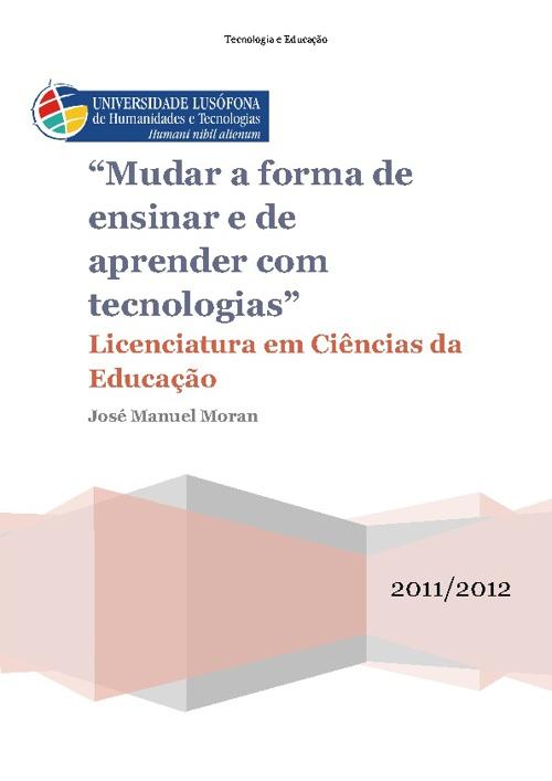 Educação com Tecnologias