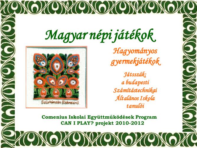 Magyar népi játékok