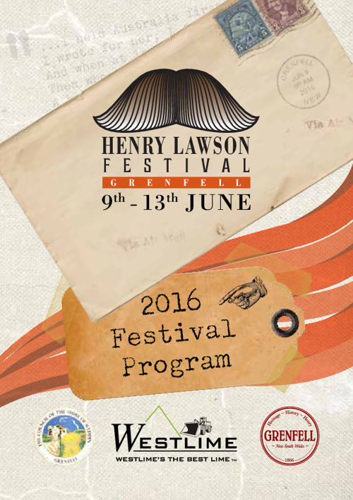 Henry Lawson Festival Program - 2016 - Grenfell, NSW