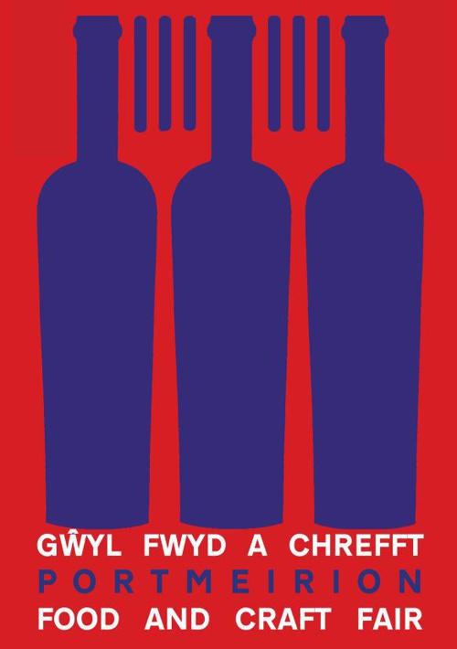 LLYFRYN NODDWYR GWYL FWYD PORTMEIRION SPONSORS BROCHURE