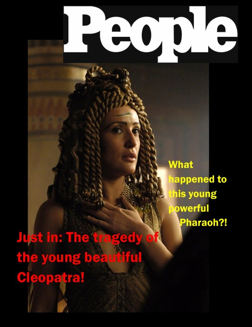 All New: Cleopatra's Death