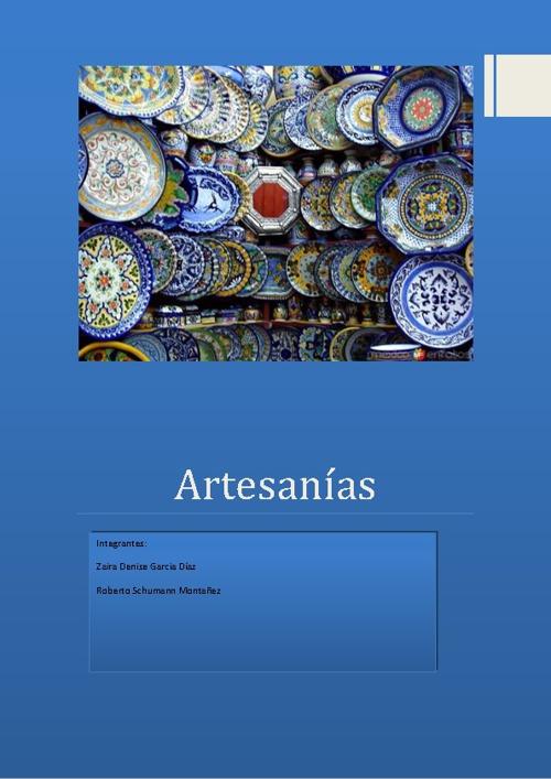 artesanias de puebla